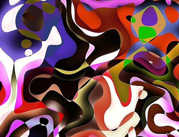 Quadro Decorativo Abstrato 04