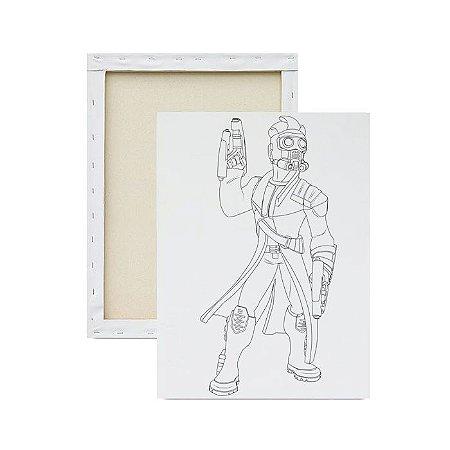 Tela Para Pintura Infantil - Senhor das Estrelas em Desenho
