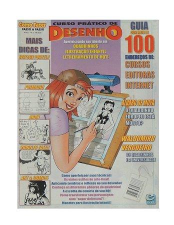 Revista - Curso Prático de Desenho, Editoras Internet
