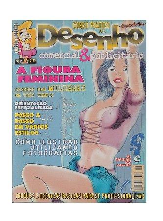 Revista - Curso Prático de Desenho, Comercial e Publicitário