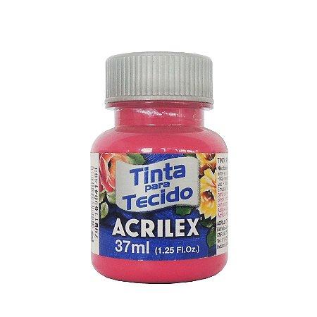 Tinta para Tecido Acrilex 37ml 542 Rosa Escuro