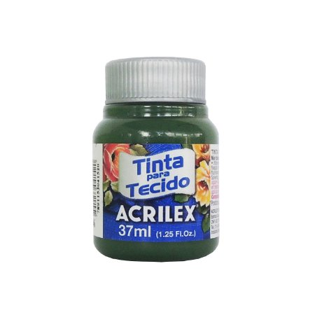Tinta para Tecido Acrilex 37ml 546 Verde Pinheiro
