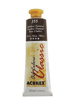 Tinta Oleo Acrilex 37ML 355 - Sombra Natural