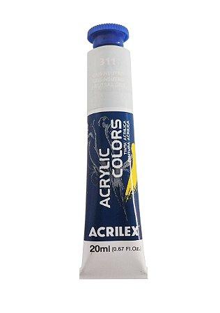 Tinta Acrilica Acrilex 20ml 311 - Gris Neutro