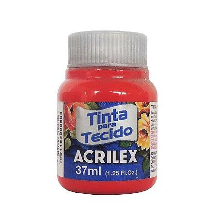 Tinta para Tecido Acrilex 37ml 801 Tangerina
