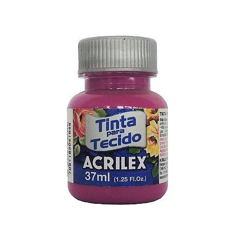 Tinta para Tecido Acrilex 37ml 549 Magenta