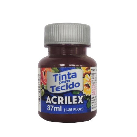 Tinta para Tecido Acrilex 37ml 565 Vinho