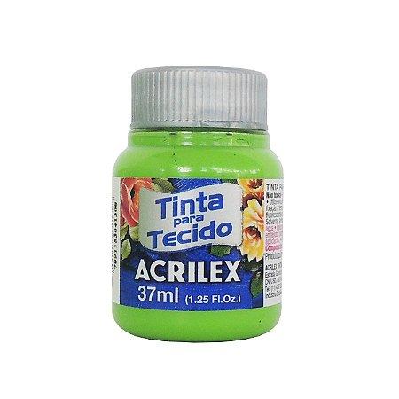 Tinta para Tecido Acrilex 37ml 510 Verde Folha