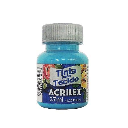 Tinta para Tecido Acrilex 37ml 535 Azul Mar