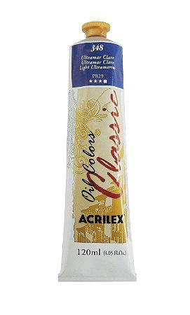 Tinta Oleo Acrilex 120 ml - 348 Ultramar Claro