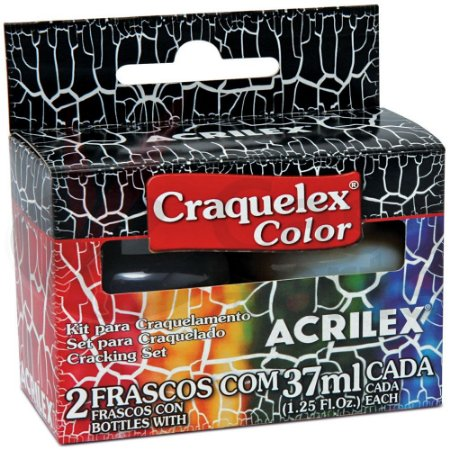 Craquelex Color (KIT) Preto 520