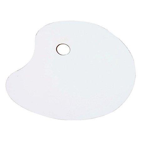 Paleta Para pintura Artística - Oval 20X30 CM