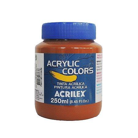 Tinta Acrilica Acrilex 250ml Grupo 2 336 - Terra de Siena Natural