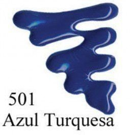Tinta Dimensional Brilhante 35 ml - 501-Azul Turquesa