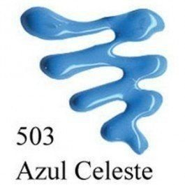 Tinta Dimensional Brilhante 35 ml - 503-Azul Celeste