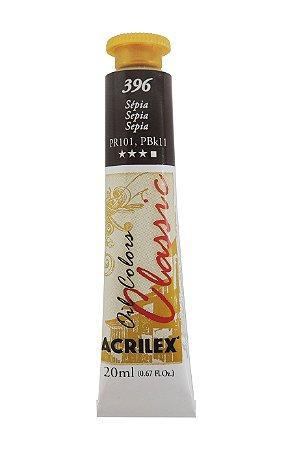 Tinta Oleo Acrilex 20ML 396 - Sépia