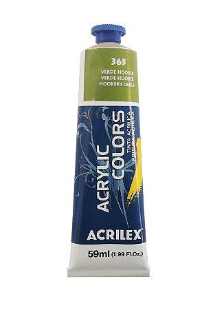 Tinta Acrilica Acrilex 59ml 365 - Verde Hooker