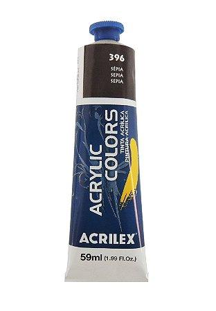Tinta Acrilica Acrilex 59ml 396 - Sepia