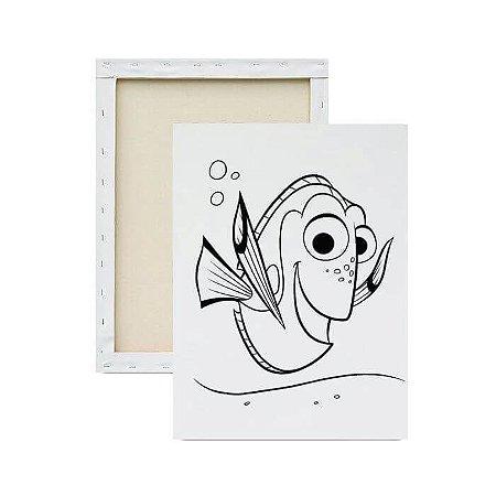 Tela para pintura infantil - Dory