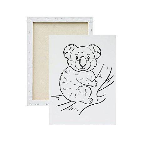 Tela para pintura infantil - Koala
