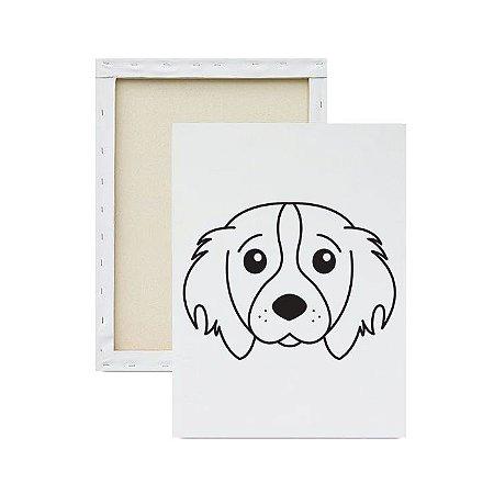 Tela para Pintura Infantil - Cachorro