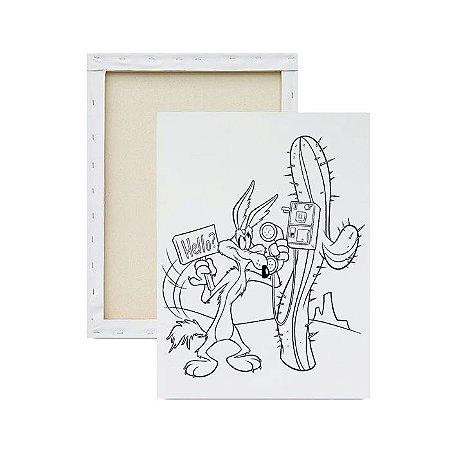 Tela para Pintura Infantil - Coiote