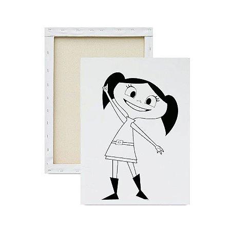Tela para Pintura Infantil - Show da Luna