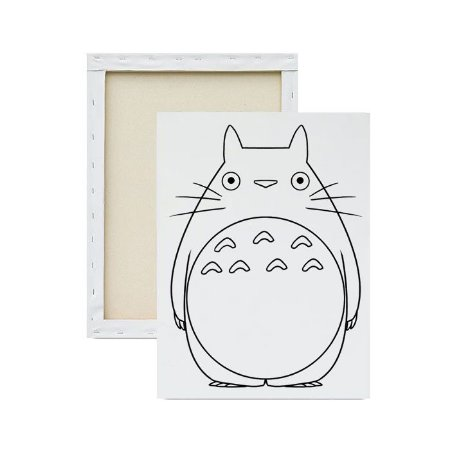 Tela para Pintura Infantil - Totoro