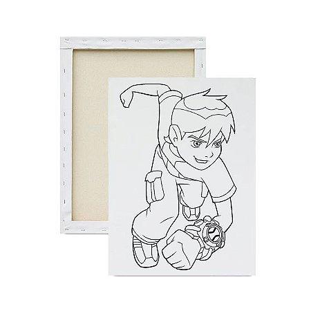 Tela para Pintura Infantil - Ben 10
