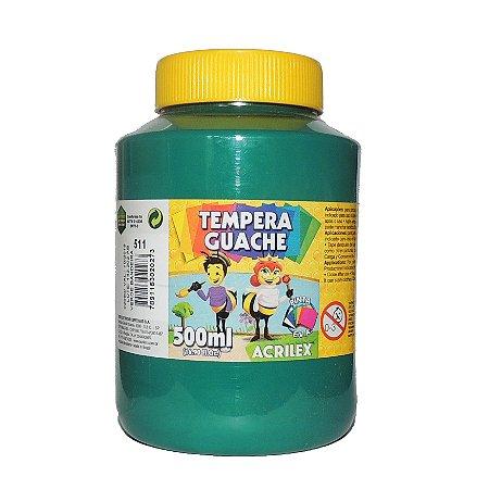 Tinta Tempera Guache Acrilex 500 ml 511 - Verde Bandeira