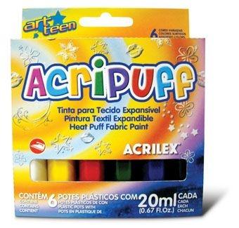 Acripuff - Tinta para Expansão a Calor