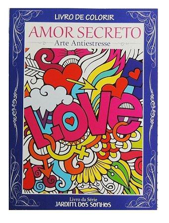 Livro de Colorir - Amor Secreto