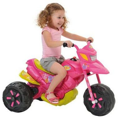 Moto XT3 Bandeirante 2701 6v Rosa