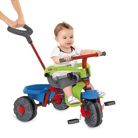 Triciclo Bandeirante Smart Plus Vermelho 280