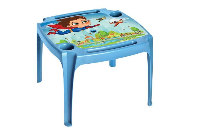 Mesa ArqPlast Infantil Azul