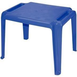 Mesa infantil Tramontina Dona Chica Azul