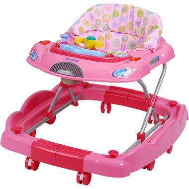 Andador Burigotto Baby Coupê Rosa