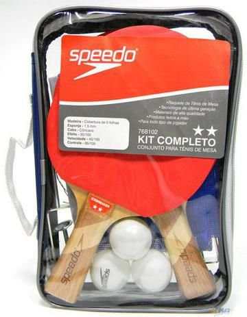 Kit Tenis Mesa Speedo Completo 3 x 1