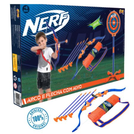Nerf Arco e Flecha C/ Alvo F00562