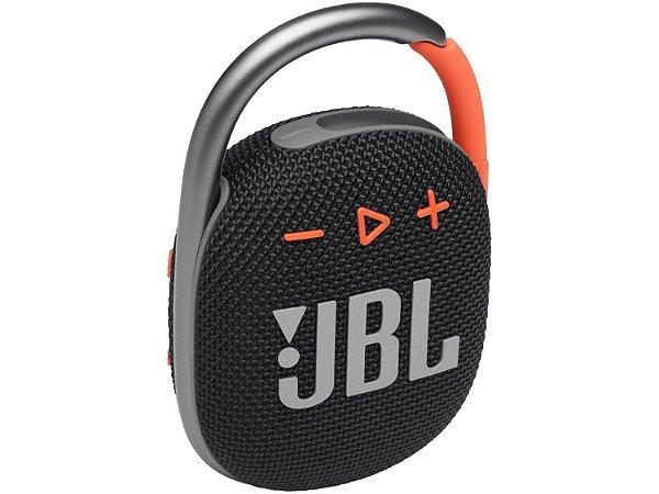 Caixa de Som JBL Clip 4 Preta