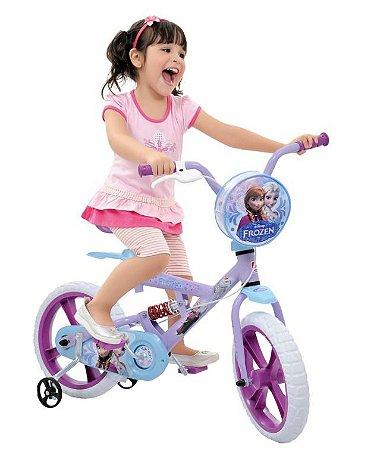 Bicicleta Frozen Bandeirante Aro 14
