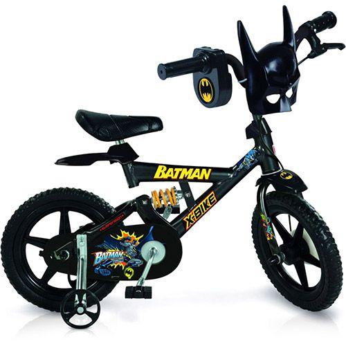 Bicicleta Batman Bandeirante 2382 aro 12