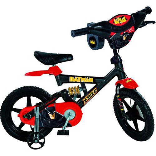 Bicicleta Batman Bandeirante 2397 aro 12