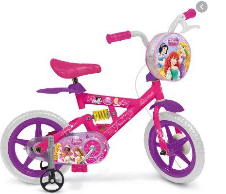 Bicicleta Princesas Bandeirante 2437 Aro 12
