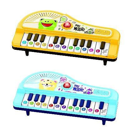 Mini Piano Bichos Coloria