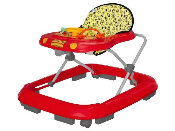 Andador Tutti Baby Safari Vermelho