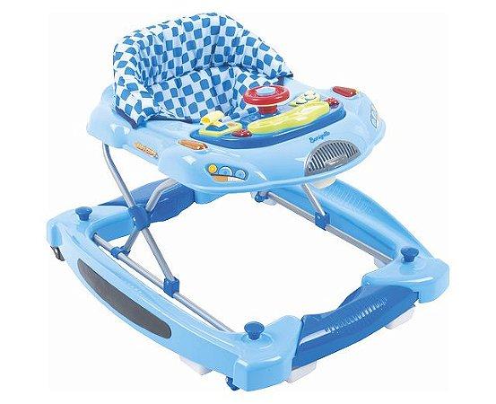 Andador Burigotto Baby Coupê Azul