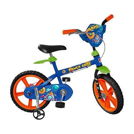 Bicicleta Bandeirante Power Game Aro 14