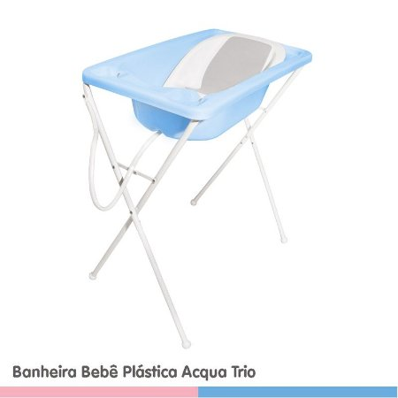 Banheira Galzerano Acqua Trio Azul 7065