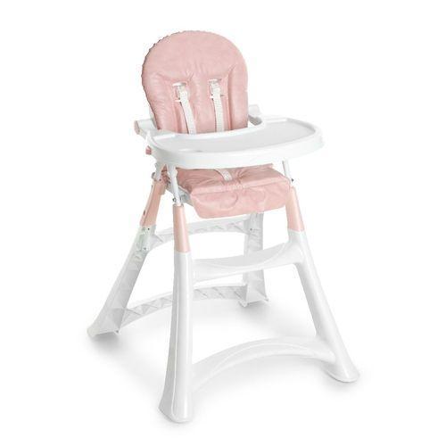 Cadeira para Refeição Galzerano Alta Premium Rosa 5070